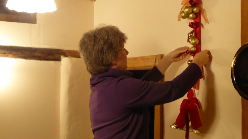 Casas rurales de Navarra preparando la Navidad